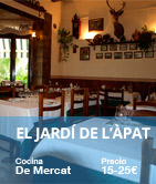 Restaurante El Jardi del Apat Barcelona